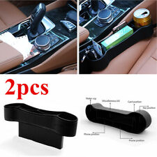 2x Car Accessories Seat Gap Pocket Storage Organizer Keys Phone Coins Holder