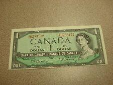 1954 - Canada $1 bill - circulated - Canadian dollar - TY6253172
