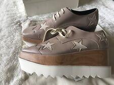 Stella McCartney Elyse Platform Oxfords Shoes Women's Sz 40/ 9us
