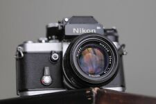 Nikon F2 camera with Nikon 50mm F1.4 Lens and new batteries