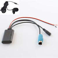 For Alpine KCE-237B AUX Cable Car Stereo Radio Bluetooth Adapter Handsfree Kit