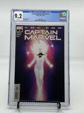 Captain Marvel The End 1 CGC 9.2 Rahzzah Cover