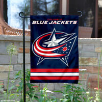 Columbus Blue Jackets Garden Flag and Yard Banner