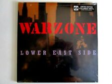 WARZONE LOWER EAST SIDE LP NEW REPRESS COLORED VINYL NEW YORK HARDCORE