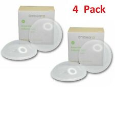 4Pack Breast Milk Collector Nursing Cups Reusable Collect Leakproof Silicone
