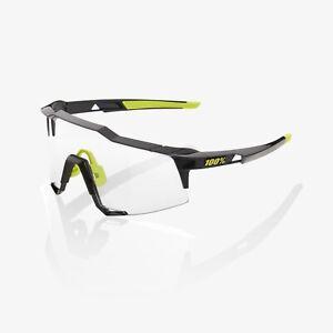 Ride 100% Speedcraft Sunglasses - Gloss Black - Photochromic Lens