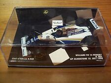 1/43 FW16 WILLIAMS RENAULT Damon Hill GP SILVERSTONE 10 LUGLIO 1994