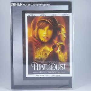 Heat and Dust (DVD, 2017, 2-Disc Set) from The Cohen Media Group, New