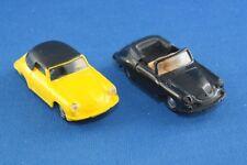 Sammlungsauflösung 2er-Set Praliné Porsche 356 Cabrio 1/87 H0 gebraucht selten