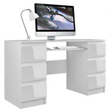 Schreibtisch Computertisch Laptoptisch Bürotisch Büromöbel Arbeitstisch weiß Hoc
