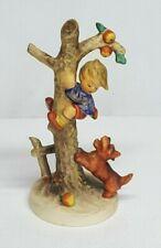 """Vintage Hummel CULPRITS 56/A TMK-5 6.75"""" Porcelain Figurine Boy in Tree w Dog"""