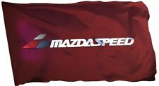 Mazda Flag Banner 3X5FT Mazadaspeed3 Mazadaspeed6 Turbb MX5 Miata Racing Speed