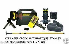 Kit Laser Croix Automatique Stanley FatMax CL2XTE  - réf:177216