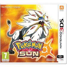 Pokemon Sun Nintendo 3ds UK Game