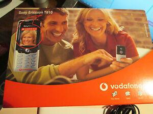 Sony Ericsson T 610 OVP schwarz/silber Lader / Heft Simfrei   gebraucht Nr. 83 E