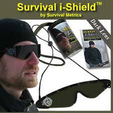 SURVIVAL METRICS Survival i-Shield Lightweight Polarized PET Sunglasses