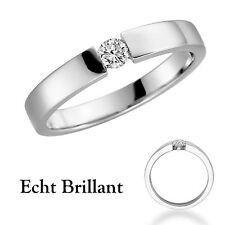 Anillo De La propuesta Compromiso 14k Oro solitario anillo de brillantes 18012