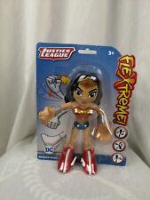 """Flextreme! DC Justice League Wonder Woman Bendable 7"""" Action Figure Toy"""
