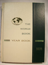 World Book Encyclopedia Yearbook - 1978 - Review of Events in 1977 Free Shipping