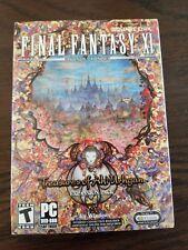 Final Fantasy XI Online: Treasures of Aht Urhgan (PC, 2006)