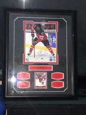 CONNOR MCDAVID AUTOGRAPHED TEAM CANADA PICTURE IN FRAME HAND SIGNED