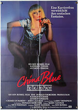 China Blue|Crimes of Passion 1984 Ken Russell Anthony Perkins Orig.-Kinoplakat