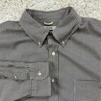 J. Crew Men's XL Multi-Color Check Long Sleeve Button Down Shirt