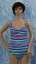Jantzen tribal dot swim dresses plus size