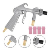 Sandblaster Kit Air Nozzles Sandblasting Siphon Feed Gun Blast Sand Blaster Y6V1