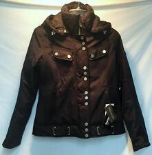 Obermeyer Women's Madison Snow Ski Winter Jacket Black Luxury Size 10 NEW