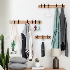 Nordic Style Coat Clothes Rack Living Room Closet Wooden Hat Racks Wall Hook --