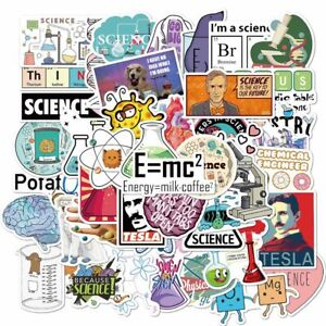 Chemistry Decorative Sticker Car Stickers Graffiti Sticker Stationery Sticker