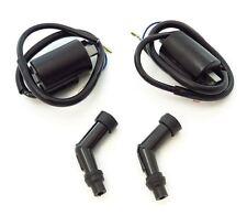 Ignition Coils and NGK Spark Plug Caps - Set - Honda CB450K CB450 CL450K CB500T
