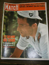 Paris Match N° 955 29 juillet 1967 Tour du France Doping Camberabero De Gaulle