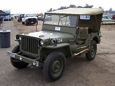 "24"" x 36"" Poster 1943 Jeep Military 4x4 Offroad Classic"