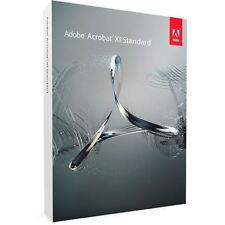 Adobe Acrobat XI standard-OEM - 1 usuarios (2 aparatos) - de/EN/FR + Multilingual