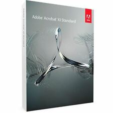 Adobe Acrobat XI Standard - OEM - 1 Nutzer (2 Geräte) - DE/EN/FR + Multilingual