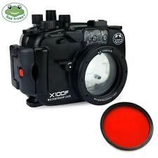Seafrogs 40m/130ft Waterproof Underwater Camera Housing Case For Fujifilm X100F