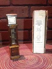 Vintage Concord Dollhouse Furniture - Miniature Victorian Grandfather Clock
