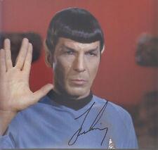 Leonard Nimoy Autograph