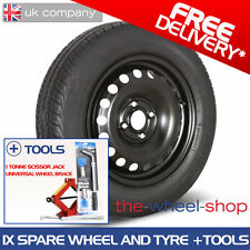 "15"" Honda Jazz 2008 - 2015 Full Size Spare Wheel and Tyre plus Tools"