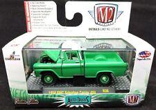 M2 AUTO-TRUCKS 1958 GMC SUBURBAN CARRIER 4X4 R36 -1:64 GREEN