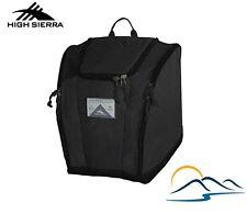 High Sierra Ski Boot Bag Black