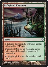 2x Rifugio di Kazandu - Kazandu Refuge MTG MAGIC C13 Commander 2013 Ita