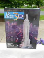 MILTON BRADLEY 3D PUZZLE EMPIRE STATE BUILDING 902 PIECES IN BOX FACTORY SEALED