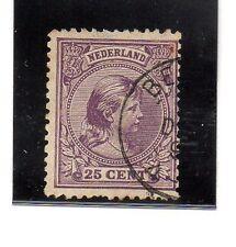 Holanda Monarquias valor del año 1891-97 (AQ-610)