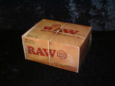 RAW CARD ROLLING ROACH FILTER TIPS BOX 50 BOOKLETS FILTERS 50 PER PACK BNIB