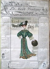 La Mode Pratique 12. Decembre 1903 Modeheft französische Sprache