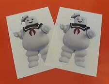 X2 GHOSTBUSTERS GHOST BUSTER MARSHMELLOW MAN 85mm alto Adesivo in Vinile