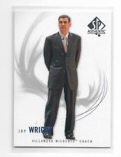 Jay Wright 2010 SP Authentic VILLANOVA Coach #99  qty